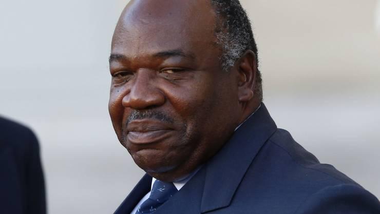 Ali Bongo erhielt laut Wahlkommission 49,8 Prozent der Stimmen. (Archivbild)