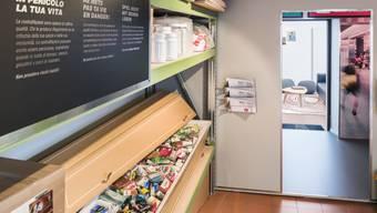 Informationen über gefälschte Medikamente an der Sonderaustellung im Schweizer Zollmuseum