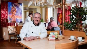 Markus Horat, Wirt des «Jägerstüblis» in Villmergen, sagt: «Mit 70 wieder einsteigen? Nein, danke.» Bild: Emanuel Freudiger