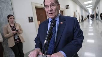 """""""Rücksichtslose Missachtung der Gewaltenteilung"""": Jerrold Nadler, Vorsitzender des Justizausschusses im US-Repräsentantenhaus."""