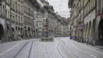 Die Berner Stadtregierung setzt den Rotstift an. Wegen der Coronakrise dürften die Steuereinnahmen deutlich zurückgehen. (Symbolbild)