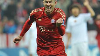 Bayerns Arjen Robben erzielte das 1:0