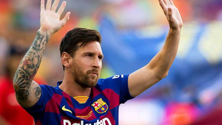 """Der Stürmerstar Lionel Messi wird laut einem Bericht der argentinischen Zeitung """"La Nacion"""" künftig für Manchester City auflaufen. (Archivbild)"""