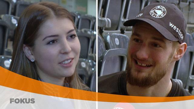 Hockey: Tess Allemann und Tristan Scherwey
