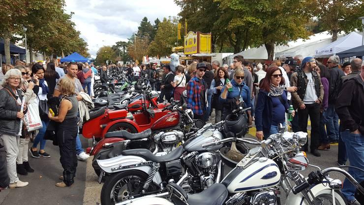 Harley-Parade