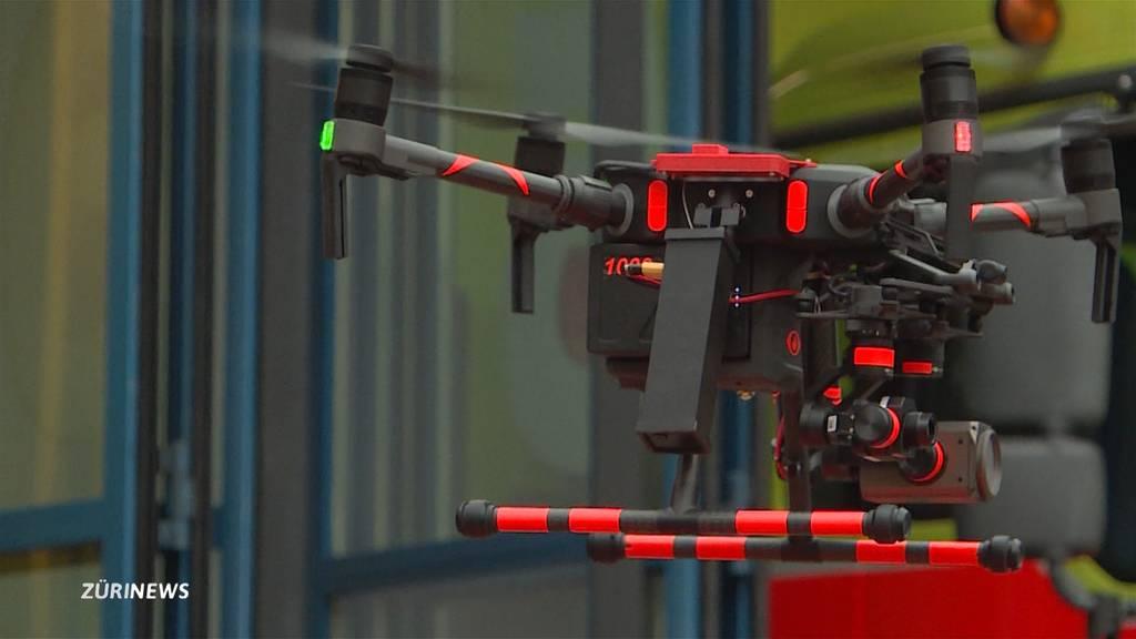 Hilfe von oben: Schutz und Rettung Zürich führt neue Drohne vor