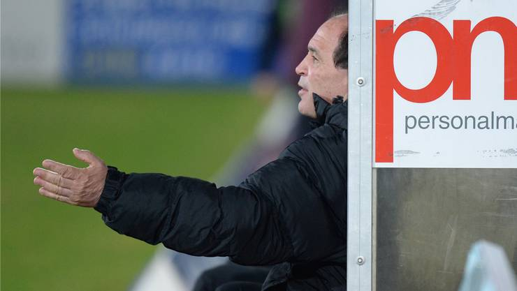 Aarau-Trainer Raimondo Ponte war mit der Vorstellung im ersten Test zufrieden – auch wenn noch nicht ganz alles passte.