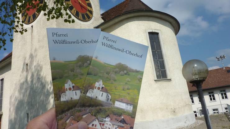 Die Geschichte der Kirche St. Mauritius in Wölflinswil wurde von dem verstorbenen Patrick Bircher aufgearbeitet und ist in einer Broschüre zusammengefasst. (gh)