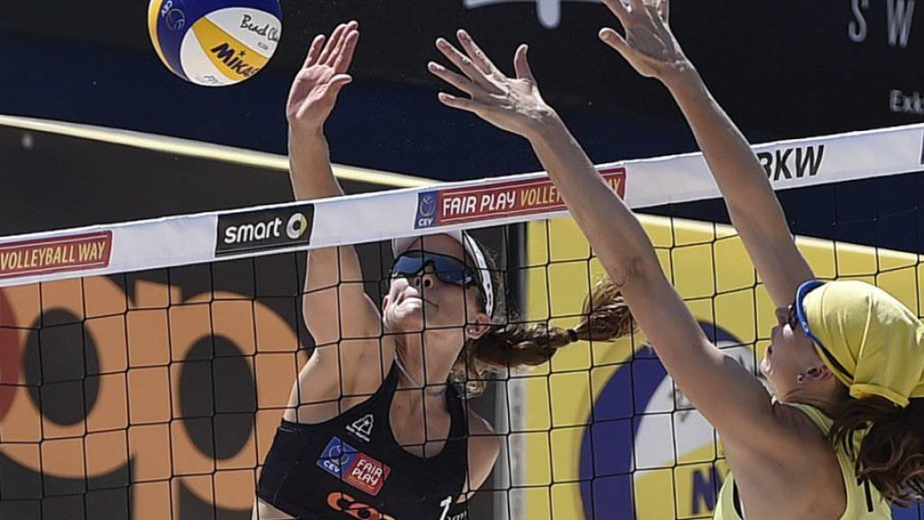 Nadine Zumkehr steht in Sotschi zusammen mit Joana Heidrich in den Halbfinals