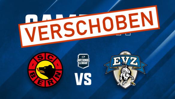 EVZ-Spiel gegen den SC Bern verschoben
