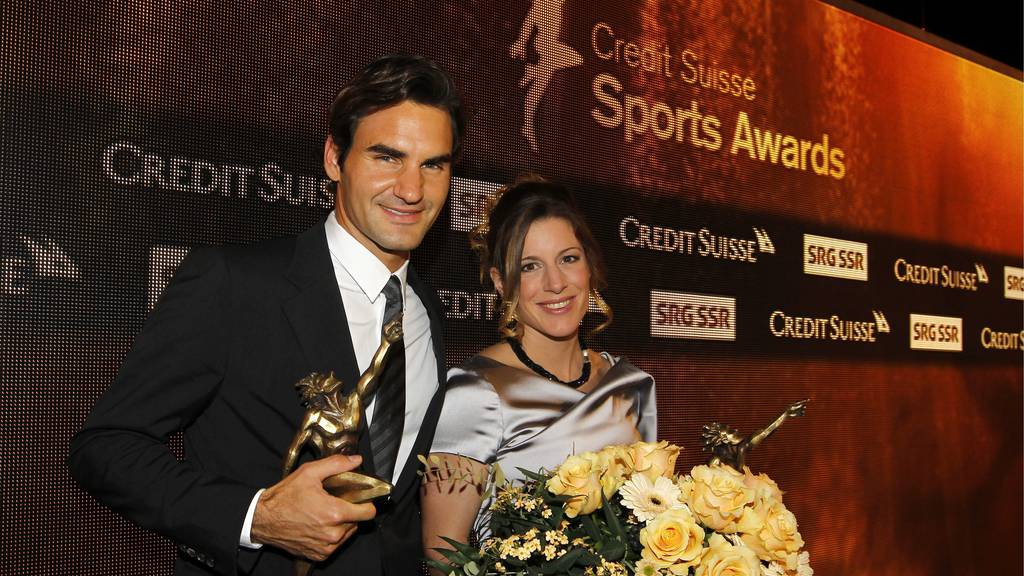 Federer und Spirig gewinnen die Sport Awards