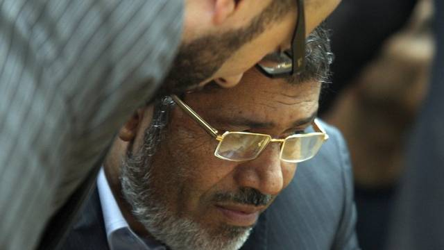 Ist umstritten: Muslimbruder Mohammed Mursi (Archiv)
