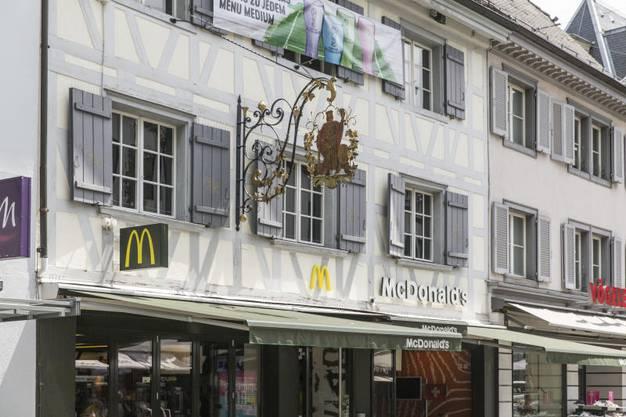 Der McDonald's an der Badstrasse 16.