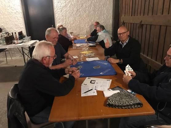 Das vierte Quali-Turnier in Aesch für den bz-Jasskönig.
