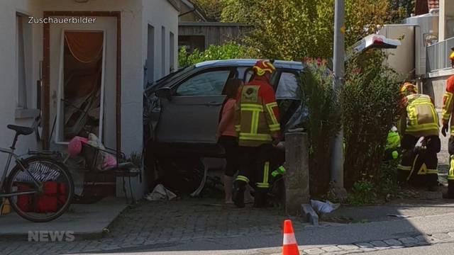 Meikirch: Vier Verletzte bei Autounfall