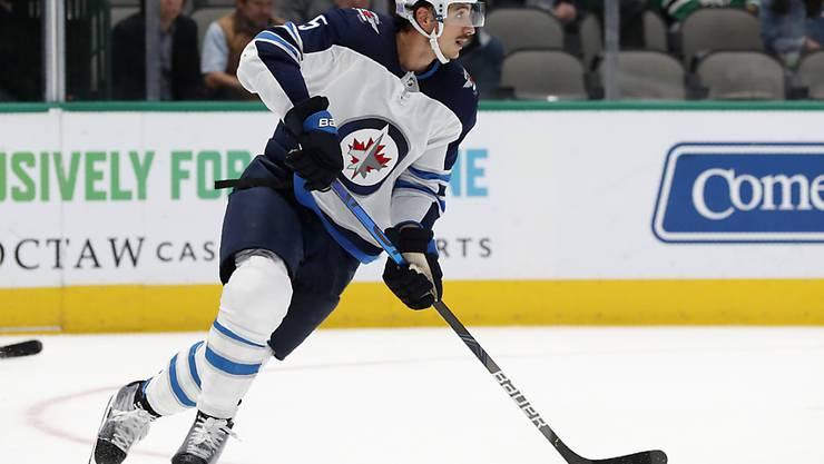 Luca Sbisa konnte sich sowohl für sich als auch für seine Winnipeg Jets freuen