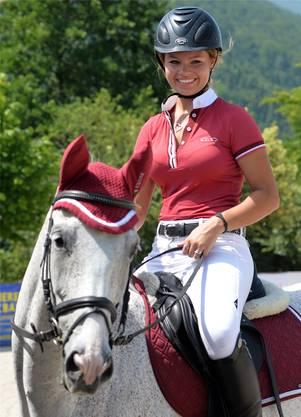 Melanie Strebel (Laupersdorf) gewann mit For Italy di Nicoletta am Samstag die Prüfung 12a.