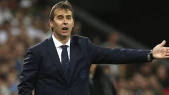 Knall bei den Spaniern: Trainer Julen Lopetegui muss gehen