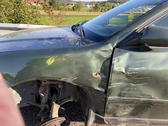 Der Sachschaden an den Fahrzeugen ist hoch.