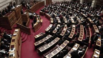 Blick aufs griechische Parlament: Der Schuldenschnitt wird gebilligt (Archiv)