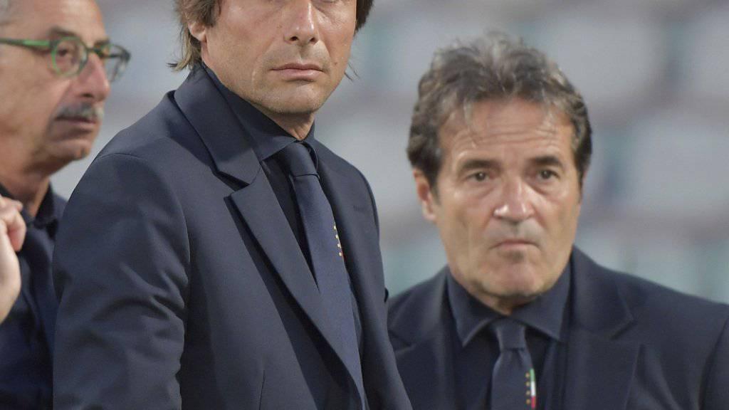 Italiens Nationaltrainer Antonio Conte bestimmte den 23-Mann-Kader für die EM-Endrunde