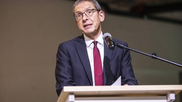 Als Regierungsrat verabschiedet: Urs Hofmann.