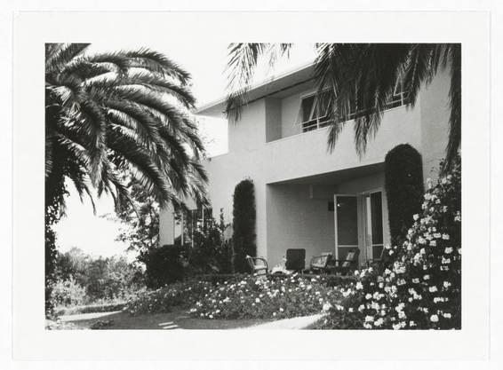Haus der Familie Mann in Pacific Palisades, 1550 San Remo Drive. (Foto: Thomas-Mann-Archiv der ETH Zürich)