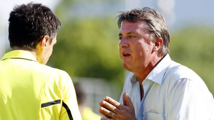 Die nächste Station ist der FC Lugano. 2010 und 2011 trainiert Schällibaum die Tessiner.