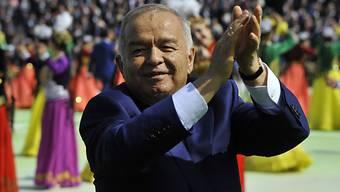 Möge die Wahl beginnen: Usbekistans Präsident Karimow (Archiv)