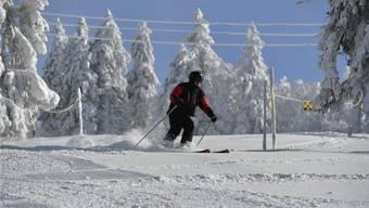 Rechtzeitig auf die Skiferien hat es wieder Schnee gegeben.