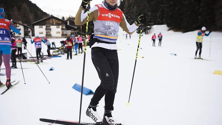 Starker erster Auftritt beim Heimauftritt in Davos: Laurien van der Graaff erreichte im Sprint-Prolog den sechsten Platz