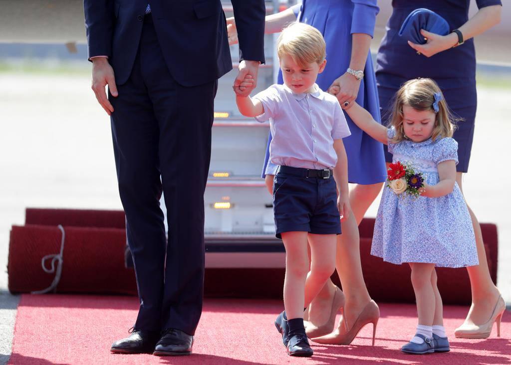 So herzig ist Prinz George (© Keystone)