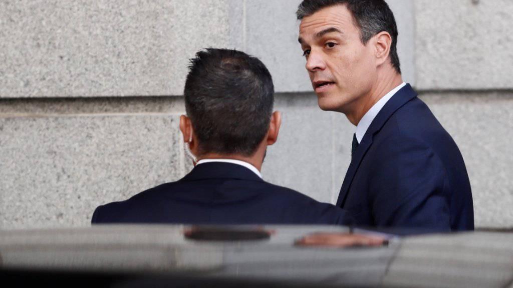 Sánchez fehlt Mehrheit für Wiederwahl