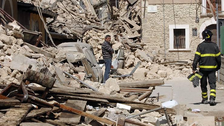 Wir im Risikogebiet gebaut, kommt es eher zu Schäden (Archivbild aus Italien).
