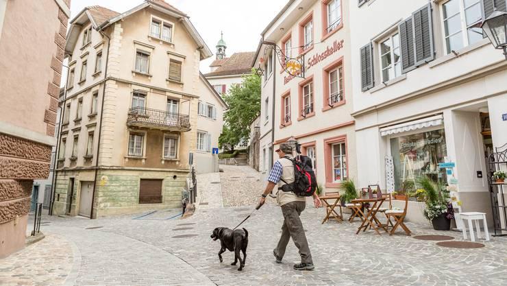 Ab Mitte August bespielen 18 Gemeinden je ein Schaufenster in der Laufenburger Altstadt. (Archiv)