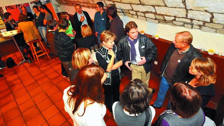 Treffen: Solothurner Politikerinnen und Politiker diskutierten angeregt mit Vertretern der Jugendverbände. (bko)