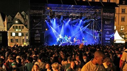 Mit einem zusätzlichen Gesetzespassus soll über den Swisslos-Fonds Jugendkultur wie das Imagine -Festival gefördert werden. (Archivbild)