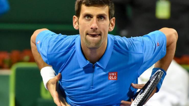 Novak Djokovic lässt sich in Bedrängnis bringen