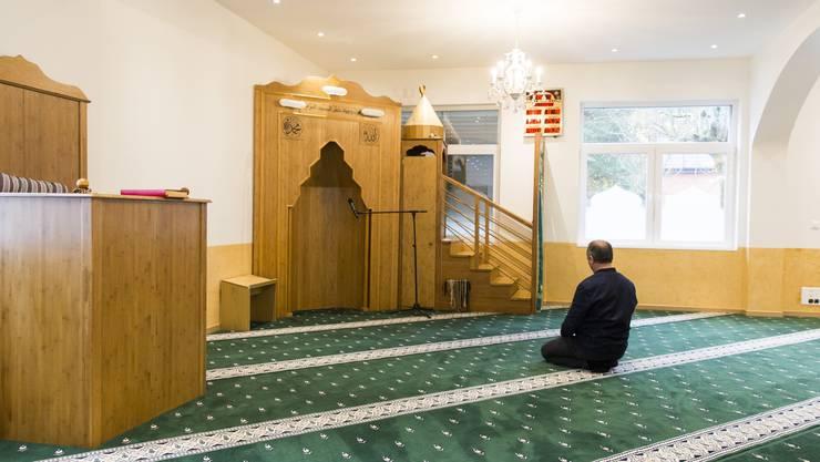 Blick in die Gebenstorfer Moschee. (Archivbild)