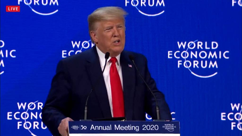 WEF: Kritik von Thunberg — Lob von Trump