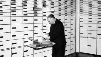 Gut gehütete Geheimnisse schlummern in den Tresorräumen der Zürcher Kantonalbank (hier eine Aufnahme von 1940).