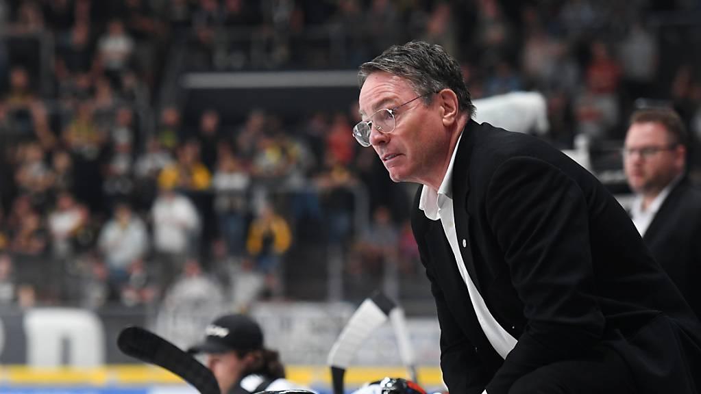 Chris McSorley feierte als Trainer von Lugano eine gelungene Rückkehr als Headcoach.