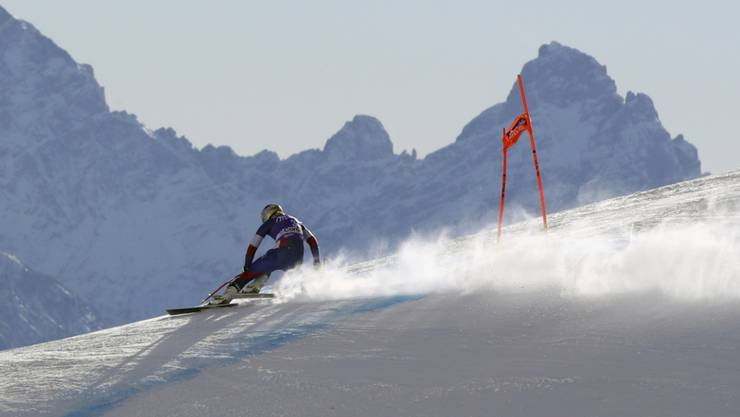Perfekte Bedingungen in den Dolomiten: Lindsey Vonn unterwegs zur Bestzeit im zweiten Training von Cortina d'Ampezzo