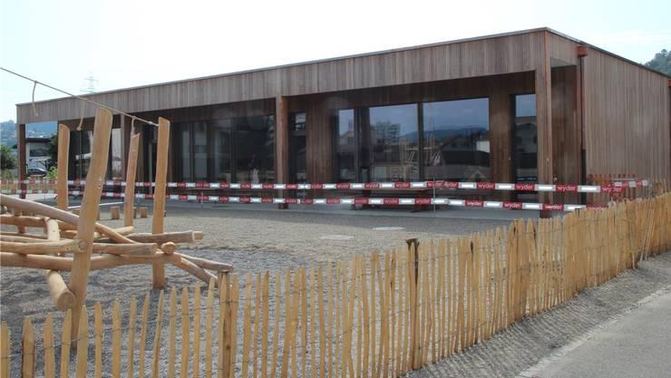 Der neue Kindsgi wird am 21. September eingeweiht.