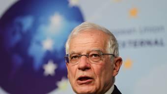 Der EU-Aussenbeauftragte Josep Borrell will Vorschläge für eine Waffenruhe und eine Kontrolle des Waffenembargos in Libyen vorlegen. (Archivbild)