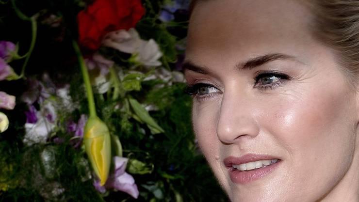 """Die britische Schauspielerin Kate Winslet soll ihre Stimme dem berühmten schwarzen Hengst """"Black Beauty"""" geben. In der Neuverfilmung ist das Tier jedoch kein Arbeitspferd, sondern ein wild lebender Mustang. (Archivbild)"""