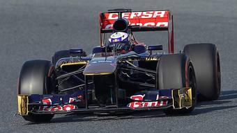 Daniel Ricciardo im Toro Rosso war am 2. Testtag der Schnellste