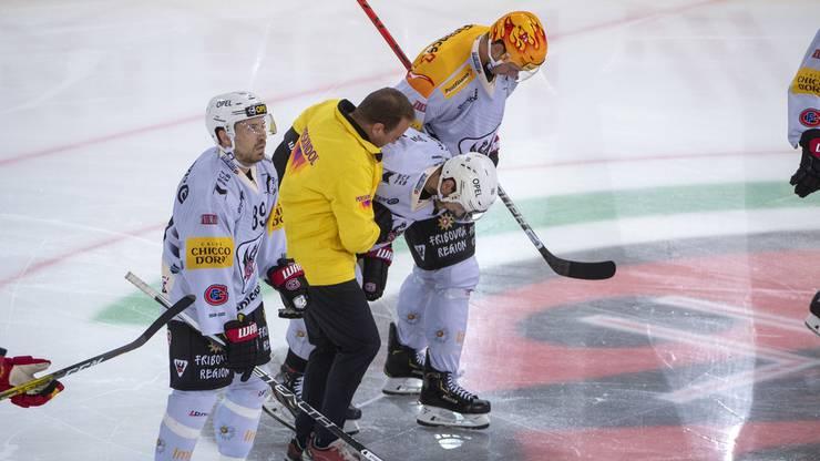 Fällt nach dem Spiel gegen die SCL Tigers verletzt aus: Fribourg-Gottéron Stürmer Julien Sprunger.