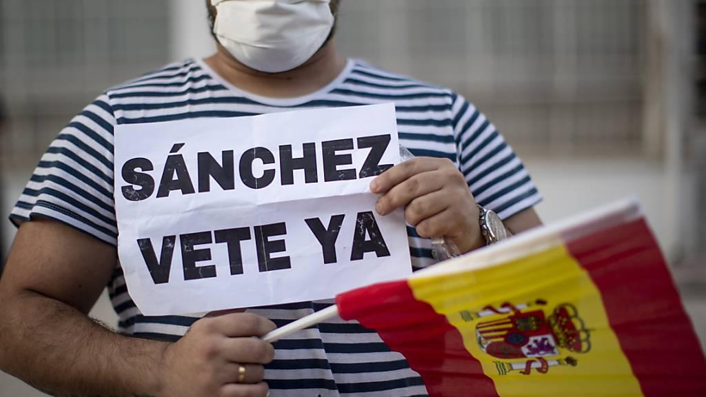 «Sánchez verschwinde!» - das brachten am Samstag Tausende auf den Strassen in Madrid, Barcelona und anderen Städten Spaniens zum Ausdruck. Der Regierungschef soll weg.