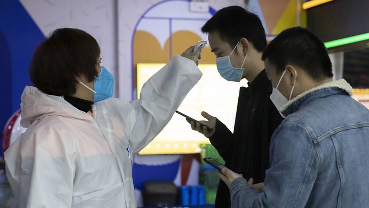 In China werden immer weniger Coronavirus-Fälle verzeichnet. (Archivbild Wuhan)